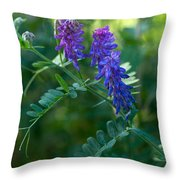 Tufted Vetch Throw Pillow