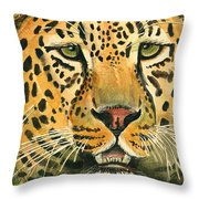 Waiting For Prey Throw Pillow