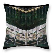 Water Reflection Twofold Throw Pillow