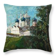 Welcome To Russia Throw Pillow