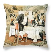 Populist Movement Throw Pillow