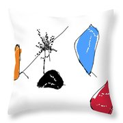 001002aa Throw Pillow