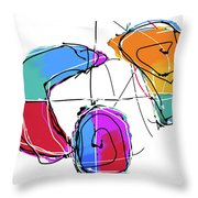 001219aa Throw Pillow