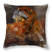 002 Pakhtun  Throw Pillow