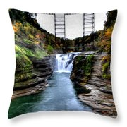 0032 Letchworth State Park Series  Throw Pillow