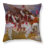 004 Pakhtun Throw Pillow