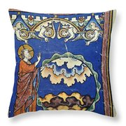 Day Two Of Creation Throw Pillow