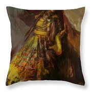 008 Pakhtun B Throw Pillow