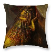 008 Pakhtun Throw Pillow