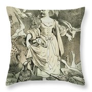 Otto Von Bismarck Throw Pillow