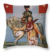 Republic Of Turkey: Poster Throw Pillow