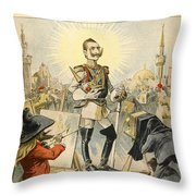 William II Of Germany Throw Pillow