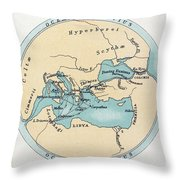 Voyage Of The Argonauts Throw Pillow
