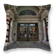 01 Market Arcade Dec2015 Throw Pillow