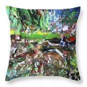 01001 Throw Pillow