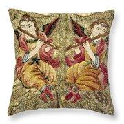 Chasuble, 18th Century Throw Pillow