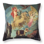 Napoleon I (1769-1821) Throw Pillow