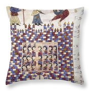Spain: Reconquest Throw Pillow