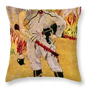 Mexico: Political Cartoon Throw Pillow