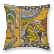 Heraclius (c575-641 A.d.) Throw Pillow