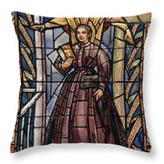 Sally Tompkins (1833-1916) Throw Pillow