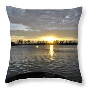 012 April Sunsets Throw Pillow