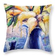 01353 Daffodils Throw Pillow
