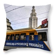 02 Main And Genesee Dec2015 Throw Pillow
