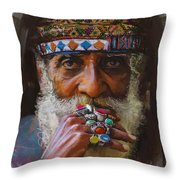 026 Sindh Throw Pillow