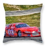 03 Rad Auto Machine Throw Pillow