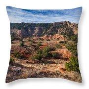 030715 Palo Duro Canyon 025 Throw Pillow