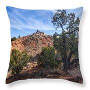 030715 Palo Duro Canyon 043 Throw Pillow