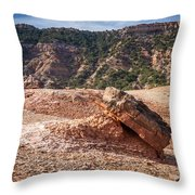 030715 Palo Duro Canyon 049 Throw Pillow