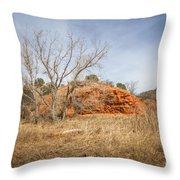 030715 Palo Duro Canyon 160 Throw Pillow