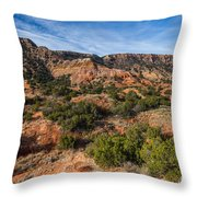 030715 Palo Duro Canyon 018 Throw Pillow