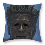 0439- James Dean Throw Pillow