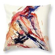 04996 Sunburn Throw Pillow