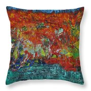 057 Abstract Thought Throw Pillow