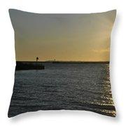 06 Sunset 16mar16 Throw Pillow