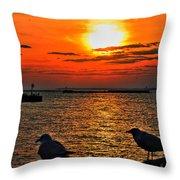 06 Sunset Series Throw Pillow