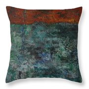068 Abstract Thought Throw Pillow
