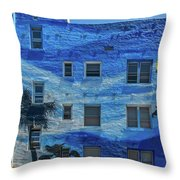 0691- Murral Throw Pillow
