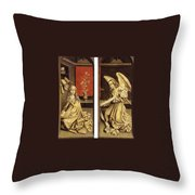 07464 Rogier Van Der Weyden Throw Pillow