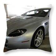 08 Aston Martin Throw Pillow