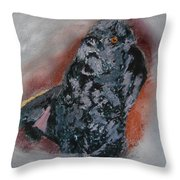 080315 Toy French Poodle Pemaw Throw Pillow