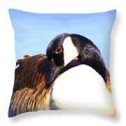 0932 - Canada Goose Throw Pillow