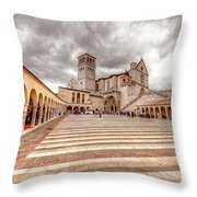 0954 Assisi Italy Throw Pillow