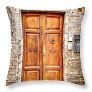 0958 Assisi Italy Throw Pillow