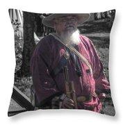 Battle Of Honey Springs V8 Throw Pillow