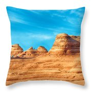Famous Delicate Arch In Arches National Park Throw Pillow
